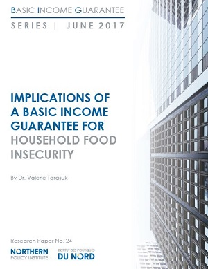 Report title: Implications of a Basic Income Guarantee for Household Food Insecurity