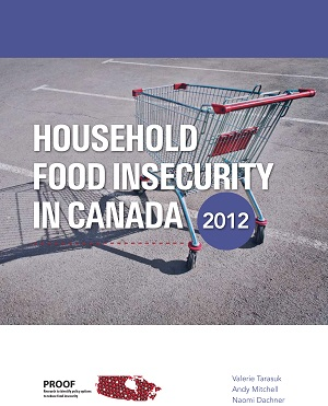 Report title: Household Food Insecurity in Canada, 2012