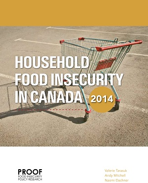 Report title: Household Food Insecurity in Canada, 2014