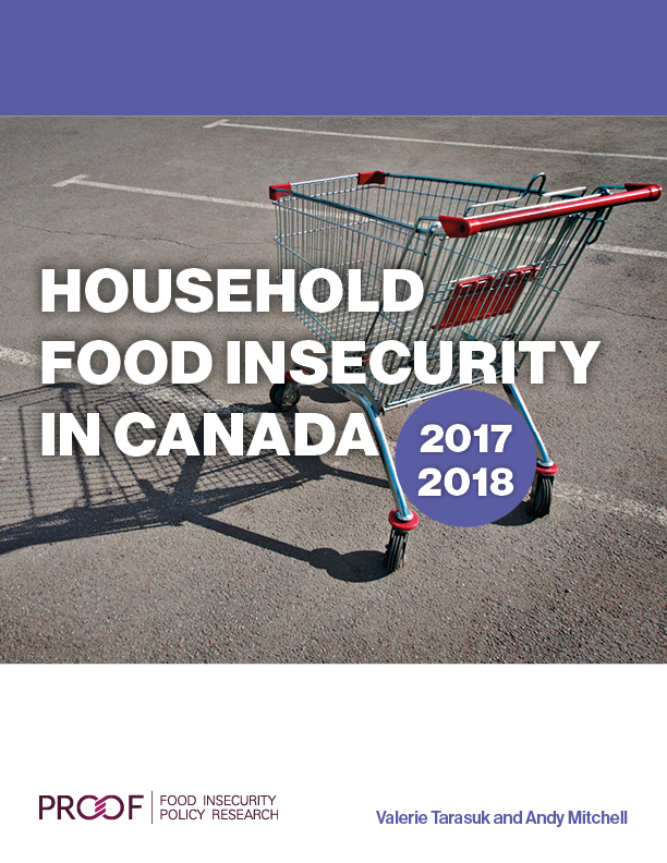 Information on report, Household Food Insecurity in Canada, 2017-2018